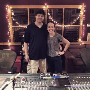 Eight years. Two EPs. Three LPs. And he still puts up with me. Engineer extraordinaire Steve Capp and I at the close of last week's sessions.